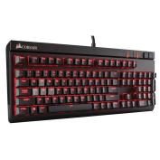 Corsair Gaming Strafe Mechanical Gaming Keyboard Backlit - Red LED - Cherry MX Brown