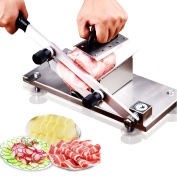Manual Frozen Meat Slicer Stainless Cutting Beef Mutton Vegetable Sheet