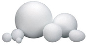 HYGLOSS PRODUCTS INC. STYROFOAM 5.1cm BALLS PACK OF 12