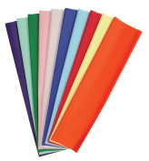 Kolorfast Non-Bleeding Craft Tissue Paper, 50cm X 80cm , Assorted Colour, Pack of 480