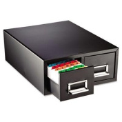 """Steelmaster - Drawer Card Cabinet Holds 3000 5 X 8 Cards 47cm X 41cm X 18cm """"Product Category"""