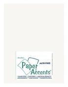 Accent Design Paper Accents ADP8511-250.401 ADPaperLinen8511BrightWhite Cdstk Linen 8.5x11 80# Bright White Bulk