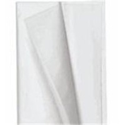 The Packaging Wholesalers 50cm x 80cm #4 White Tissue Paper, Bulk Pack