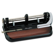 40-Sheet Heavy-Duty Lever Action Two- to Seven-Hole Punch, 11/32 Holes, Sold as 1 Each