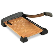 """Heavy-Duty Guillotine Paper Trimmer, Wood Base, 30cm """"x 18, Sold as 1 Each"""