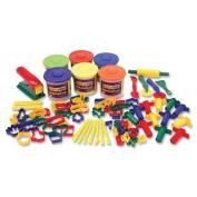 Wholesale CASE of 2 - Chenille Kraft Classic 84pc Playdough and Tool Set-Classic Dough/Tool Box Assortment, 84 Piece, Multi Colour