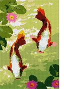 Koi Pair Needlepoint Kit