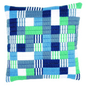 Vervaco Long Stitch Cushion Blocks and Stripes