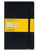 Moleskine Classic Soft Cover Notebooks graph 13cm . x 21cm . 192 pages [PACK OF 3 ]