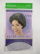 Annie Extra Thin Net 3 pcs Black