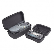 haoun 2Pcs Set Remote Controller/ Drone Body Bag Hardshell Case Of Storage Box Case Bag for DJI Mavic Pro