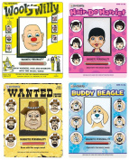 Playmonster Woolly Willy Bundle with Original, Buddy Beagle, Hair Do Harriet, and Wanted Poster