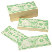 PLAY MONEY/$100.00, Sold By Case Pack Of 7 Bags