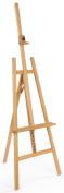 Displays2go TBASEL051N Floor Standing Tripod Easel