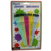 Bulk Buys MM039-96 20Pc Artist Brush Set - Pack of 96
