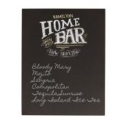 Personalised Bar Menu Chalkboard