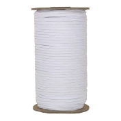 288 Yards of White 0.3cm Skinny Elastic - ElasticByTheYard