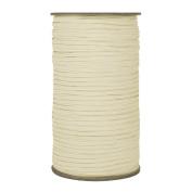 288 Yards of Light Ivory 0.3cm Skinny Elastic - ElasticByTheYard