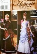 OOP Simplicity Costume Pattern 5457. Misses Szs 6,8,10,12 1980's Victorian Costumes