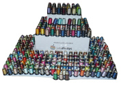 Polyester Embroidery Machine Thread Set (260 Spools, 500m Each) by SMB Always