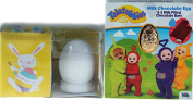 Teletubbies Milk Chocolate 50g Easter Egg / Paint Your Own Ornament Craft toy