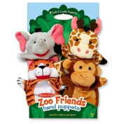 Melissa Doug Zoo Friends Hand Puppets TRG