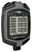 Robic 180 Dual Memory Speed Timer & Stopwatch, Slate Grey/Black