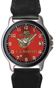 Aqua Force Marines Frontier Watch with 38mm Face and Nylon/Leather Band