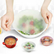 KESEE Silicone Food Wrap Reusable Seal Cover Stretch Fresh Keeping Kitchen Tools