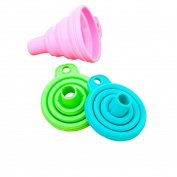 KESEE Silicone Gel Practical Collapsible Foldable Funnel Hopper Kitchen Tool Gadget