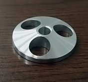 45 RPM SPINDLE ADAPTER TURNTABLE PHONOGRAPH STEREO RECORD PLAYER aluminium DOME