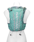 Nathan NS4527 Vaporairess Hydration Pack Running Vest with 2L Bladder, Cockatoo, XX-Small