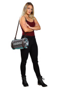 Leather Yoga Mat and Blanket Carrier with Adjustable Strap