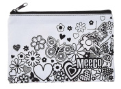 Doodleme Pencil Bag for Girls with zip