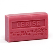 French Soap, Traditional Savon de Marseille - Cherry (Cerise) 125g