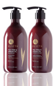 Luseta Tea Tree & Argan Oil Shampoo & Conditioner Set 2x500ml, 470ml Shampoo & Conditioner Set