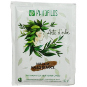 PHITOFILOS - Walnut Hull Mixture - 100% Organic Hair Treatment - for Brown Shades - With Indigofera and Lawsonia - 100 gr