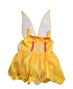 Yellow butterfly princess dress / teddy clothes to fit 38cm Build a Bear