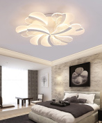 Glass Ceiling Lamps Simple Modern Living Room Bedroom LED Acrylic Ceiling Light With Light Source 3 Lights, 5 Lights And 9 Lights Dimmable