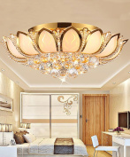 Crystal Ceiling Light Modern Simplicity Living Room Dining Room Glass Ceiling Lamps With Light Source