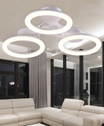 Acrylic Ceiling Lamps Modern Simplicity Bedroom Living Room LED Iron Ceiling Light With Light Source With Remote Control