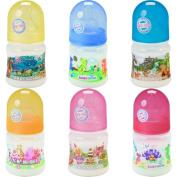 Babynova Baby Bottle 150 ml with Silicone Teat Polypropylene Wide Neck Valve