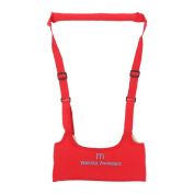 TOOGOO(R) SAFETY HARNESS WITH BRACES FOR CHILDREN CHILDREN LEARN TO WALK NEW Colour:Red
