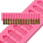 5Five Embossing Mould Mat Sugarcraft Icing Cake Decorating -Great for House/Farm/Garden Cake