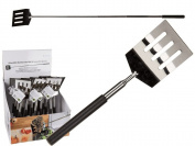 Extendable Stainless Steel Spatula BBQ Frying Pan Telescopic