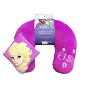Disney Frozen Elsa Embroidered Comfy Neck Travel pillow