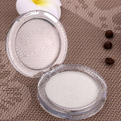 Makeup White Colour Eyeshadow Palette Shimmer Eye Shadow Powder Natural Smokey