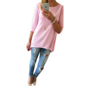 Women's T Shirt, Ularma 3/4 Sleeve Loose Casual Pullover Tops Blouse
