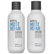 KMS California Moist Repair Shampoo 300ml & Conditioner 250ml For Dry Hair Types