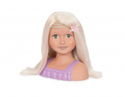 Our Generation 70.37078 Trista Bust Doll